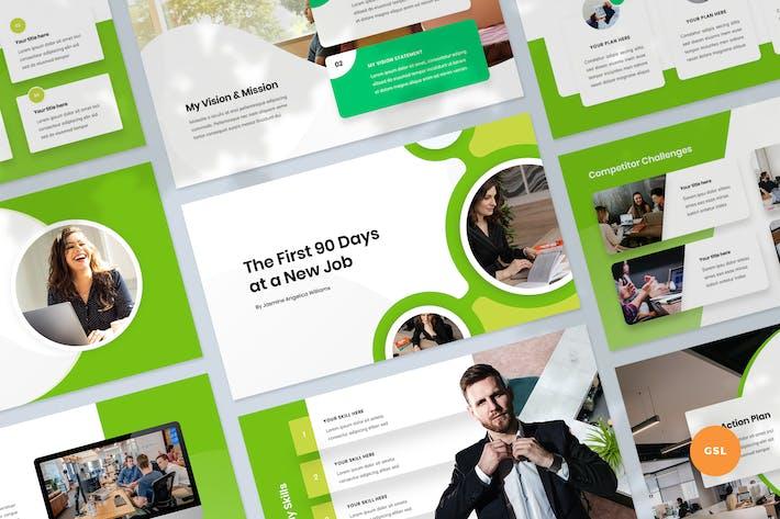 Thumbnail for Job & Career Development Slides Templates