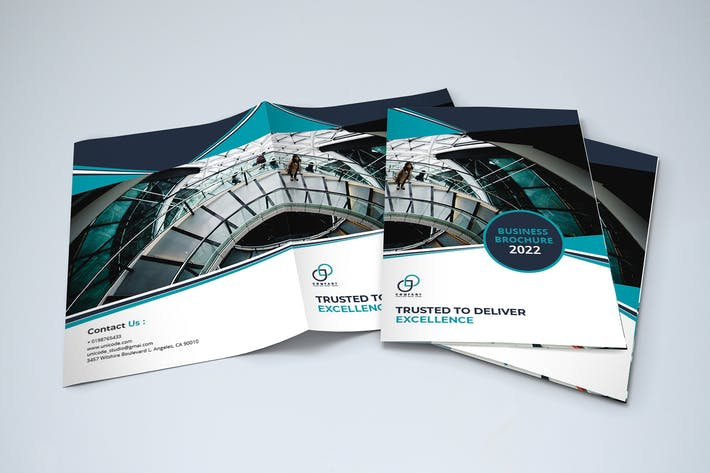 Cover Image For Bifold Business Brochure