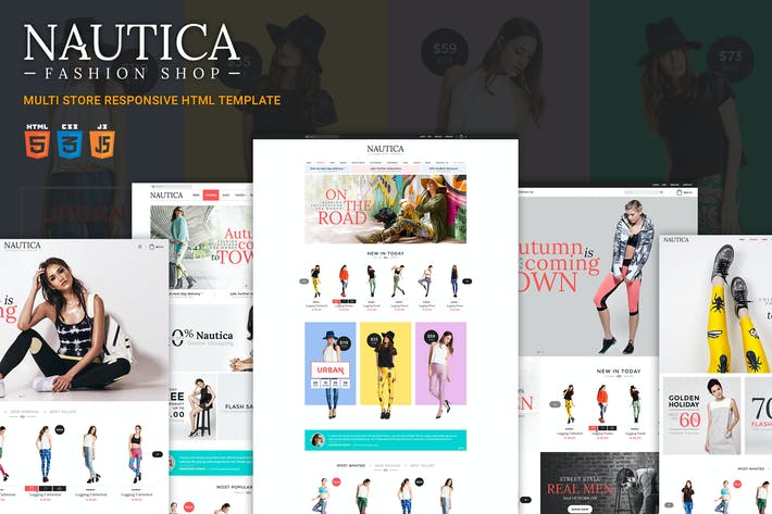 Thumbnail for Nautica | Responsive HTML Template