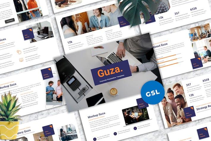 Guza - Corporate Googleslide Templates