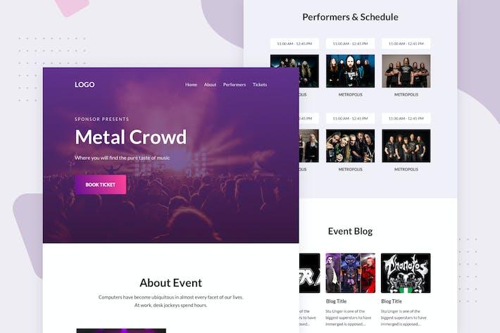 Thumbnail for Concert - Email Newsletter