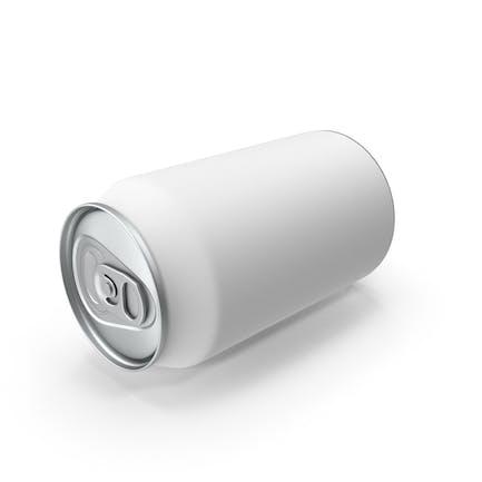 330ml Soda Can Mockup Laying Flat