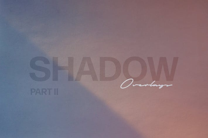 Thumbnail for Shadow Play Photo Overlays Vol.2