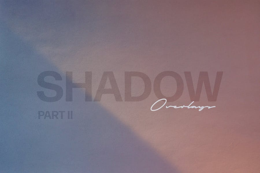 Shadow Play Photo Overlays Vol.2 - product preview 6