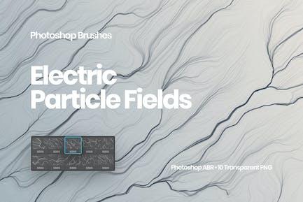 Электрические поля частиц щетки Photoshop Кисти