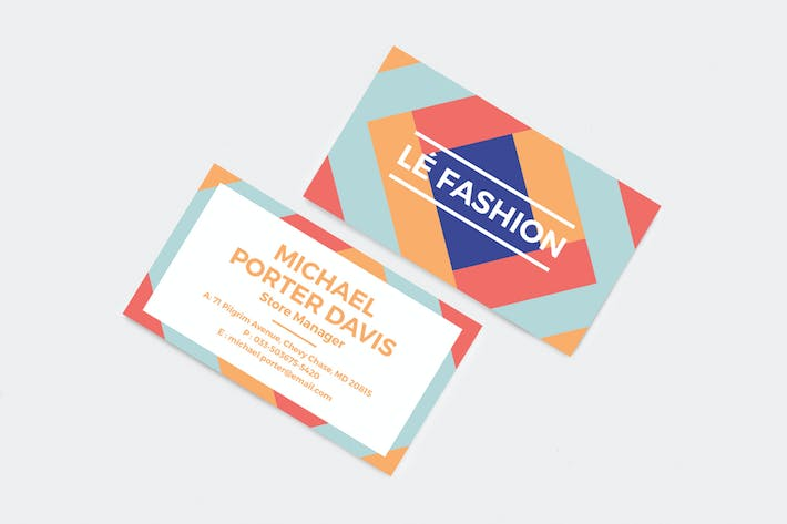 Thumbnail for Professional and Creative Business Card 05