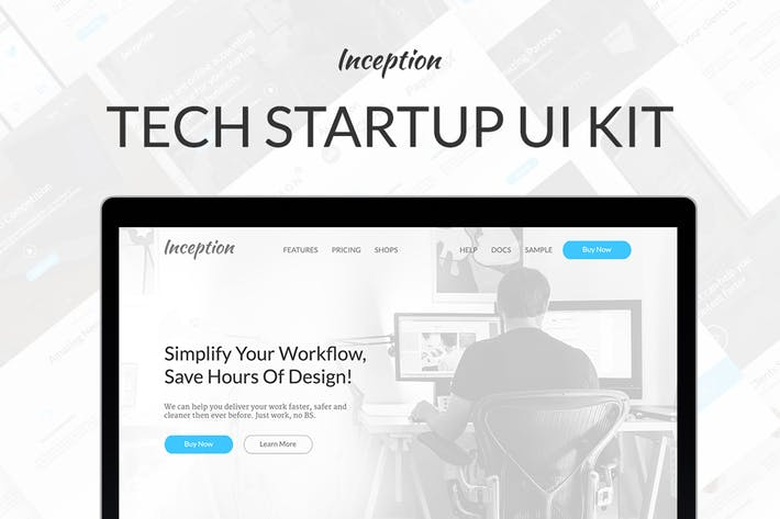 Thumbnail for Inception UI Kit