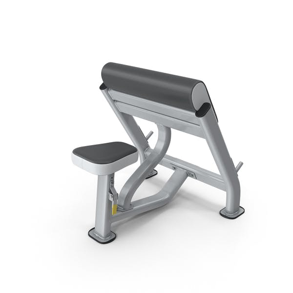 Cover Image for Seated Preacher Curl Exercise Bench