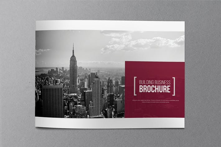 Thumbnail for Architecture Business Brochure 02