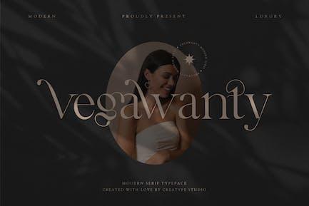 Con serifa moderno Vegawanty