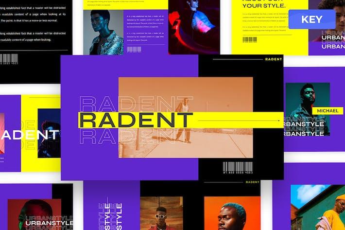Radent - Urban Keynote Presentation Template