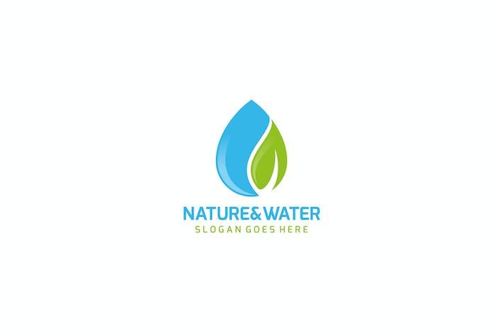 Thumbnail for Nature Drop Logo