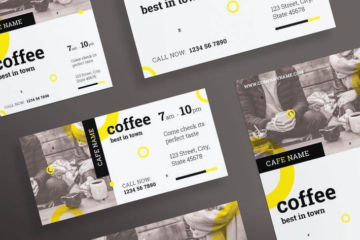 Thumbnail for Coffee Shop Flyer and Poster Template