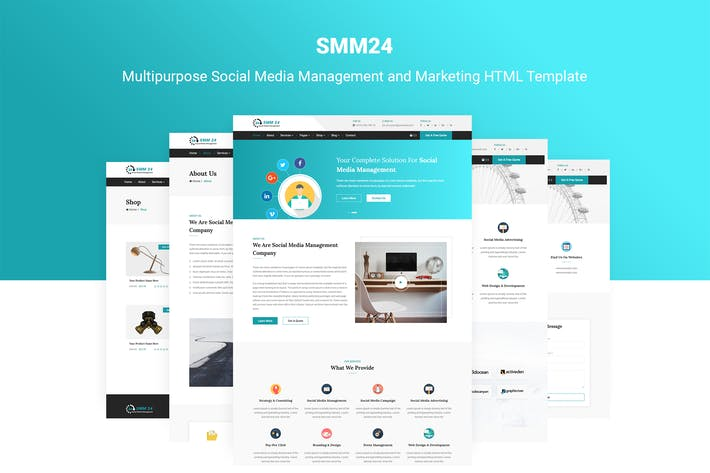 Html Page Template   Download Landing Page Templates Envato Elements