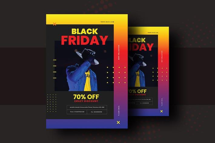 Thumbnail for Black Friday Product Promotional Flyer V-8