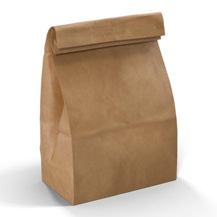 Brown Lunchtasche aus Papier
