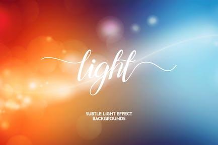 Subtle Light Effect Backgrounds