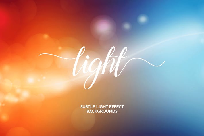 Thumbnail for Subtle Light Effect Backgrounds