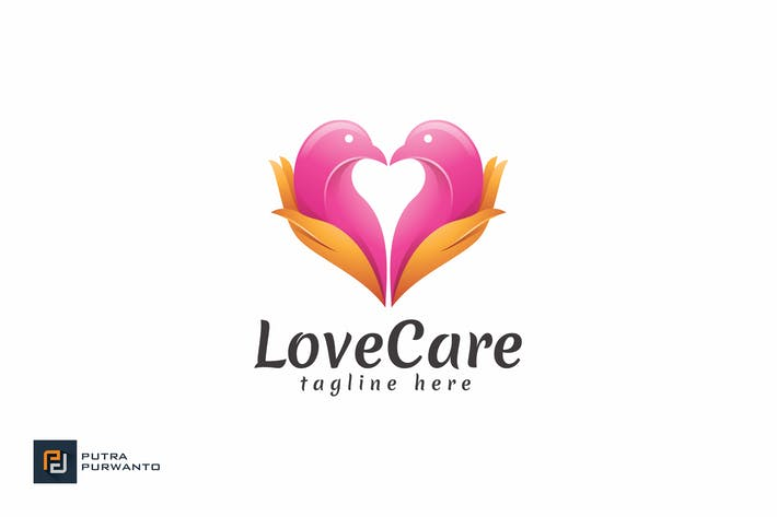 Thumbnail for Love Care - Logo Template