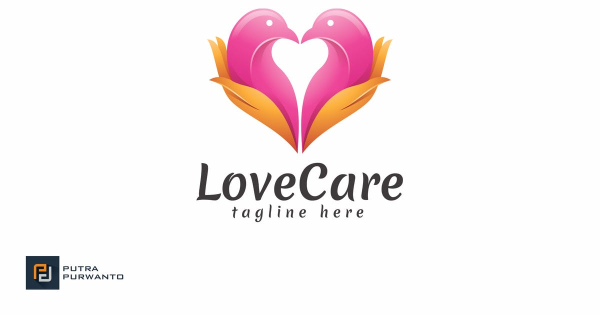 Download Love Care - Logo Template by putra_purwanto
