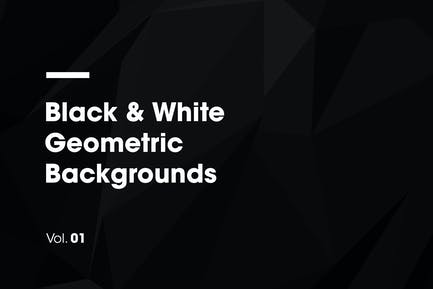 Schwarz & Weiß | Geometrische Hintergründe