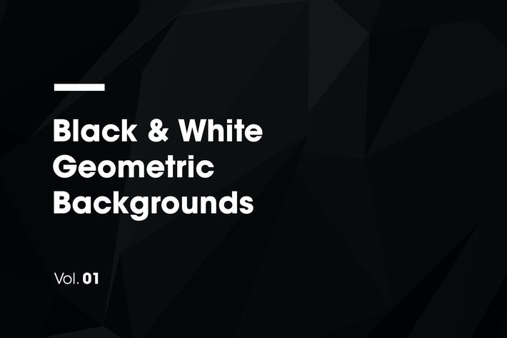 Thumbnail for Black & White | Geometric Backgrounds