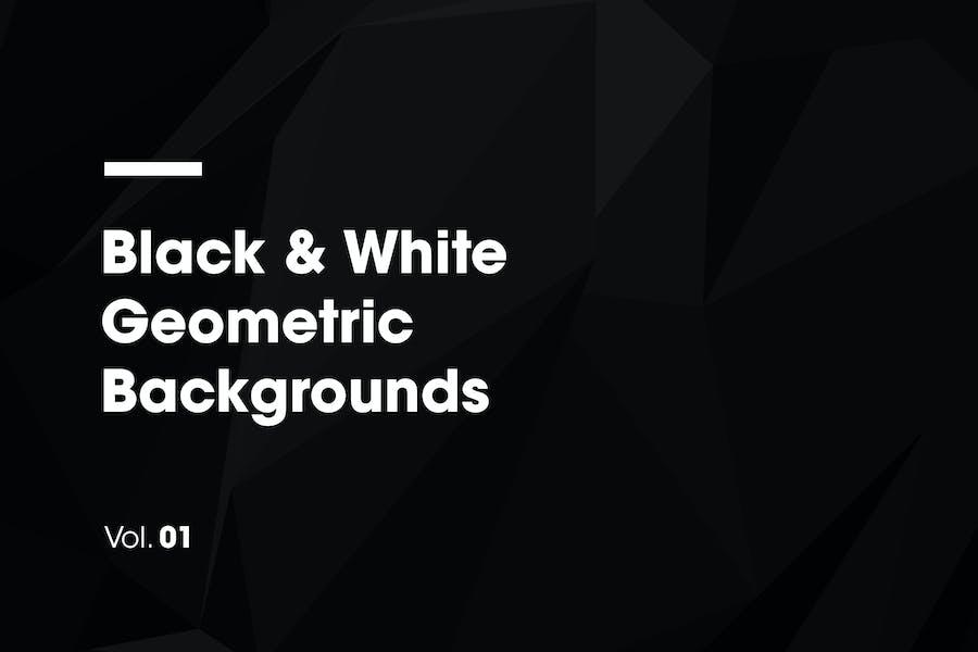 Schwarz & Weiß   Geometrische Hintergründe