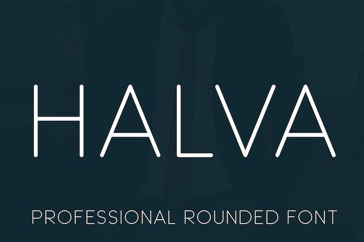 Thumbnail for Halva Font