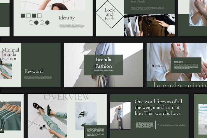 Brenda Minimal Fashion ~ Google Slides