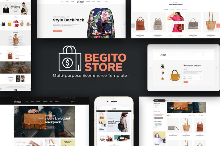 Thumbnail for Begito - Bag Store Responsive Prestashop 1.7 Theme