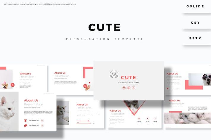 Thumbnail for Cute Presentation Template