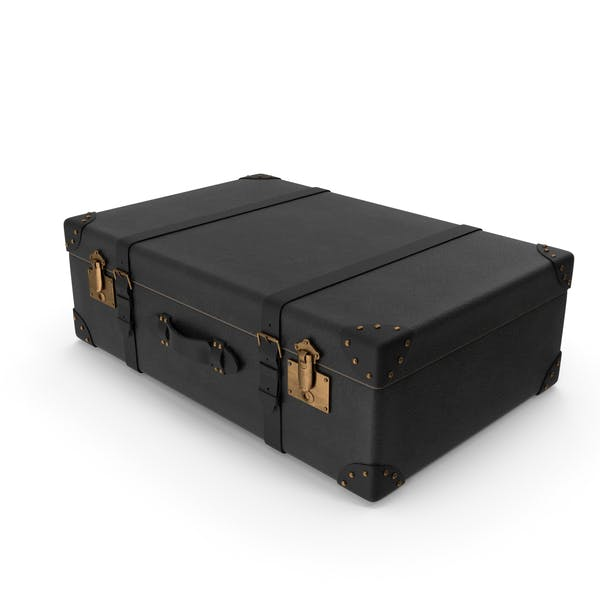 Retro Suitcase Black