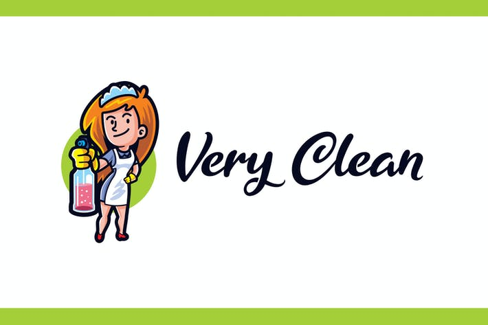 Thumbnail for Very Clean - Maid Service and Housekeeping Logo