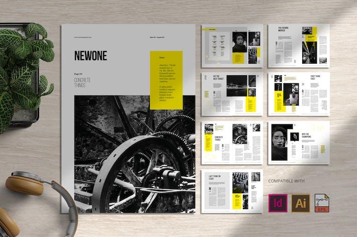 Thumbnail for Newone | Magazine Template
