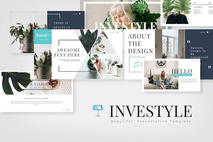 Thumbnail for INVESTYLE Keynote Templates