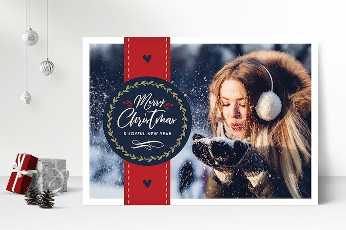 Thumbnail for Christmas Photo Card