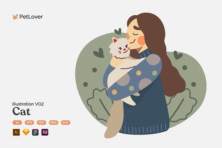 Thumbnail for Pet Lover V02 Cat
