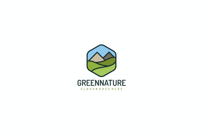 Thumbnail for Green Nature Logo