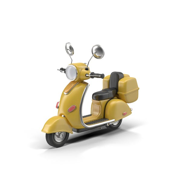 Cover Image for Cartoon Motor Scooter