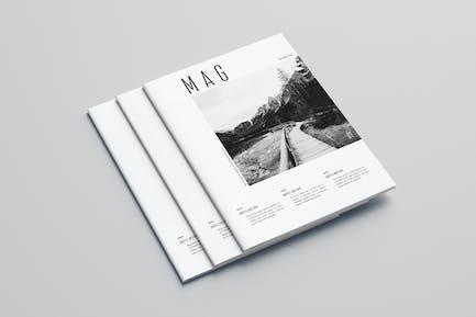 Cool Minimal Photography Magazine