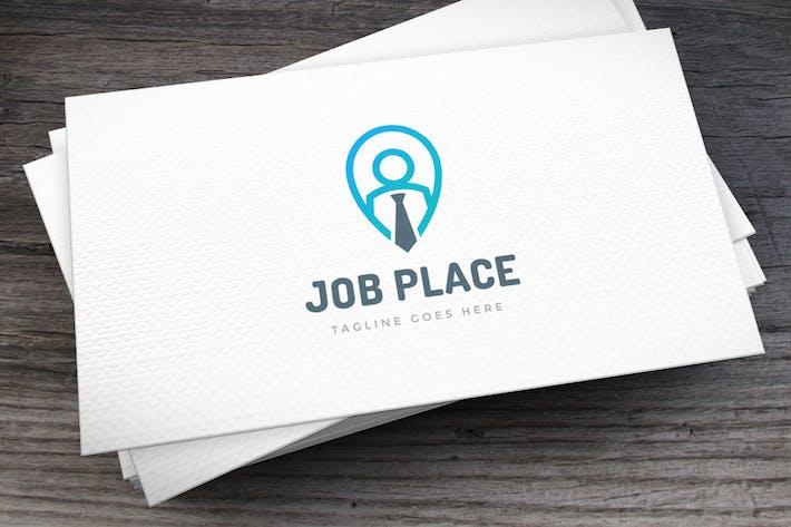 Thumbnail for Job Place Logo Template