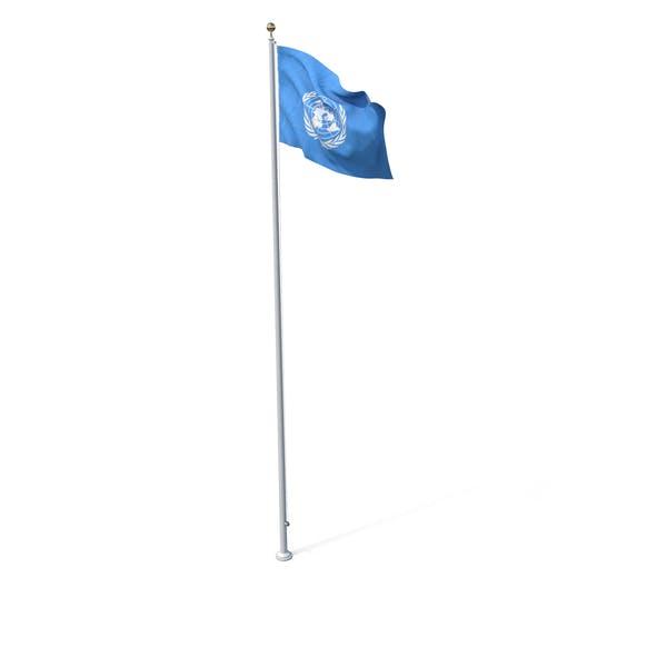 Thumbnail for Flag On Pole UN