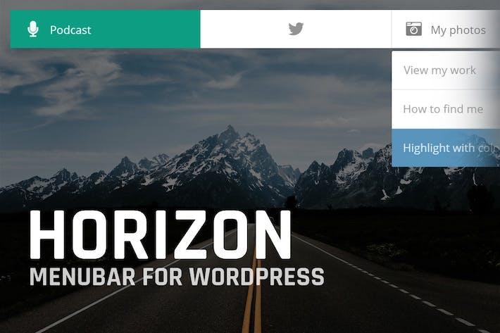Thumbnail for Horizon: Menubar for WordPress