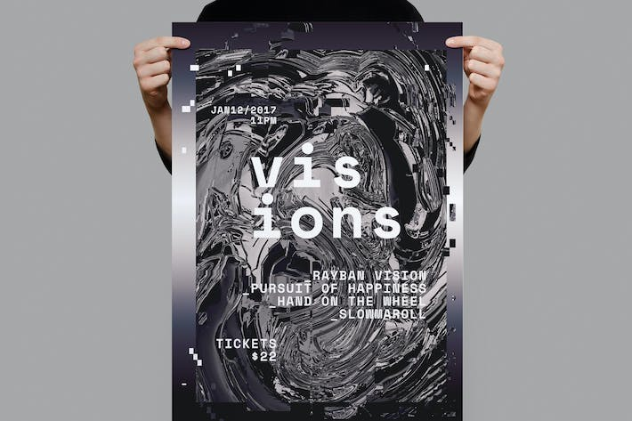 Thumbnail for Visions Poster / Flyer