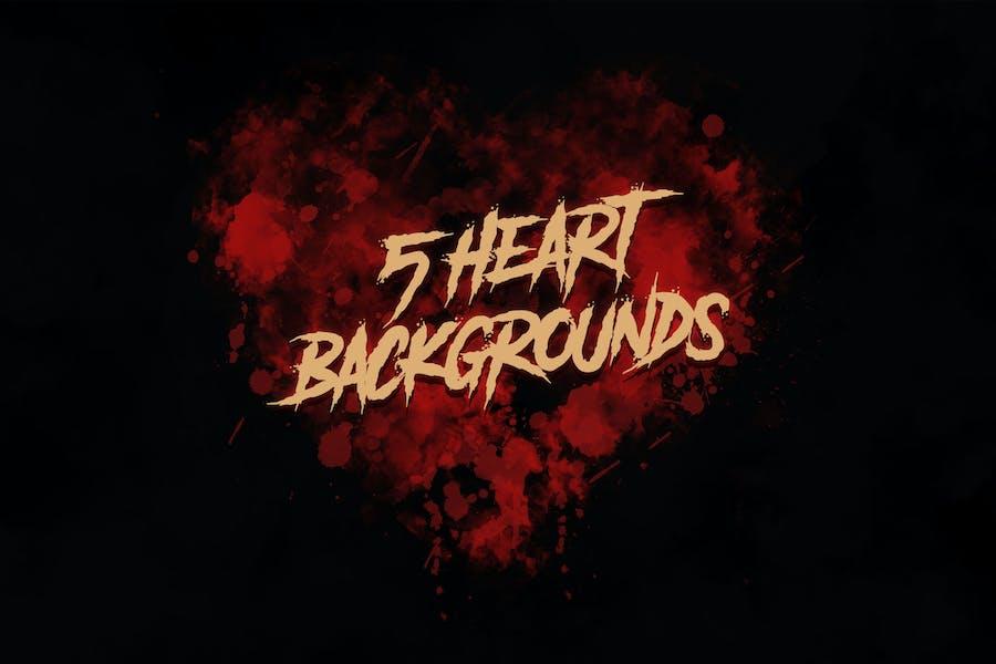 Dark Grunge Hearts