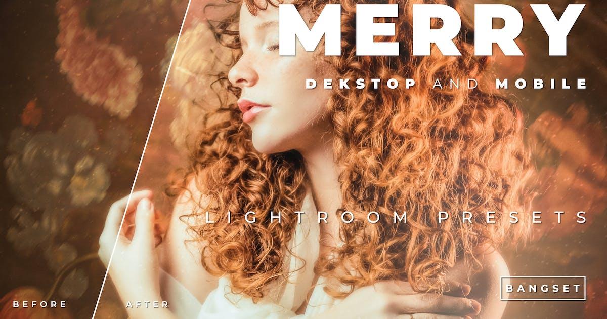Download Merry Desktop and Mobile Lightroom Preset by Bangset