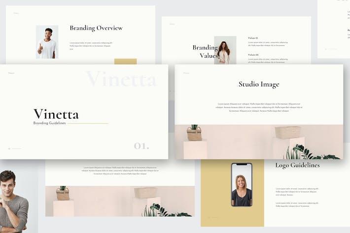 Thumbnail for Vinetta Brand Guidelines Keynote Template