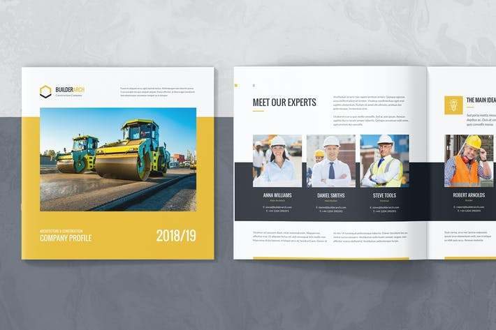 Cover Image For BuilderArch – Construction Company Profile