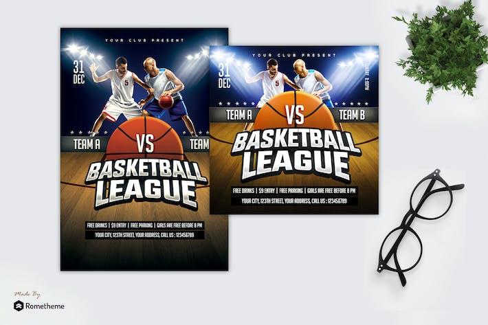 Thumbnail for Basketball League - Sport Flyer MR