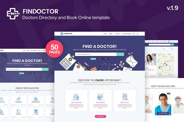 Thumbnail for Findoctor - Doctors directory and Book Online temp